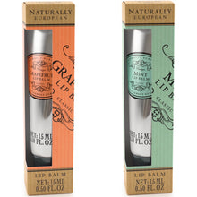 Load image into Gallery viewer, Naturally European lip balm Grapefruit or Mint - La Di Da Interiors