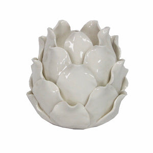 Ceramic Artichoke Tea-light Candle Holder - La Di Da Interiors