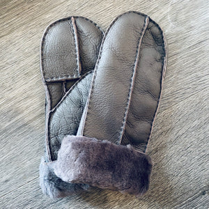Ladies Sheepskin Mittens - La Di Da Interiors