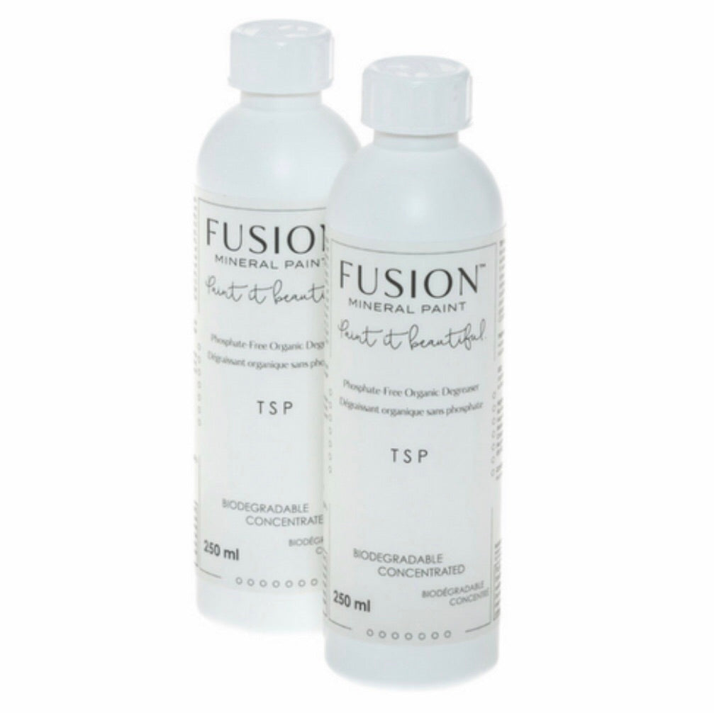 Fusion TSP degreaser for furniture painting preparation - La Di Da Interiors