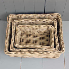 Load image into Gallery viewer, Kubu Willow Basket Trays