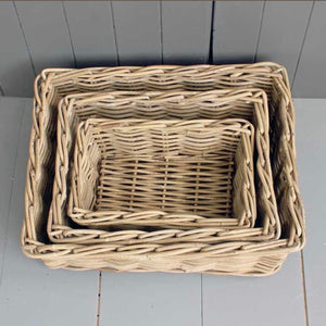 Kubu Willow Basket Trays