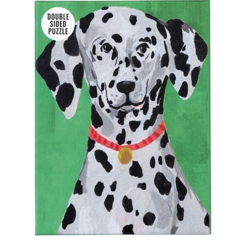 100 Piece Dog jigsaw puzzles: Dalmation, Cockerpoo, Dachshund & French Bulldog