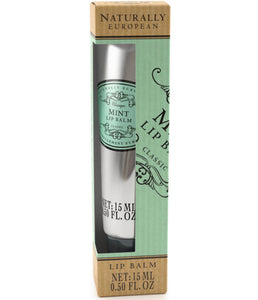 Naturally European lip balm Grapefruit or Mint - La Di Da Interiors
