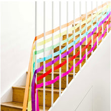 Load image into Gallery viewer, Rainbow Paper Streamers