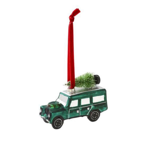 Land Rover 4x4 Christmas Tree Decoration - La Di Da Interiors