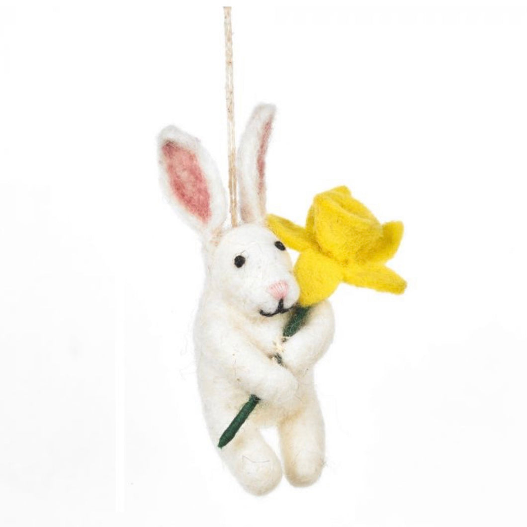 easter bunny tree decoration