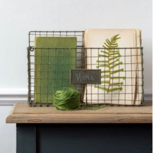 Wire wall basket - La Di Da Interiors