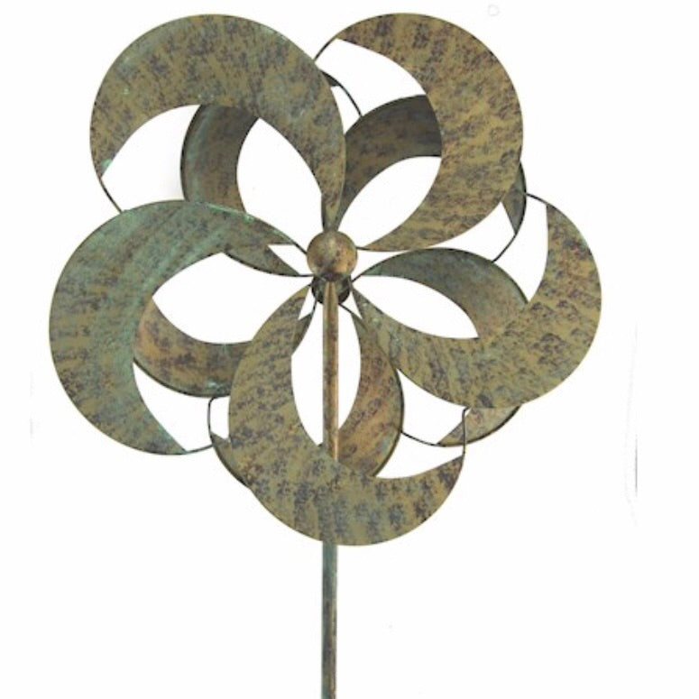 Metal garden wind spinner - La Di Da Interiors