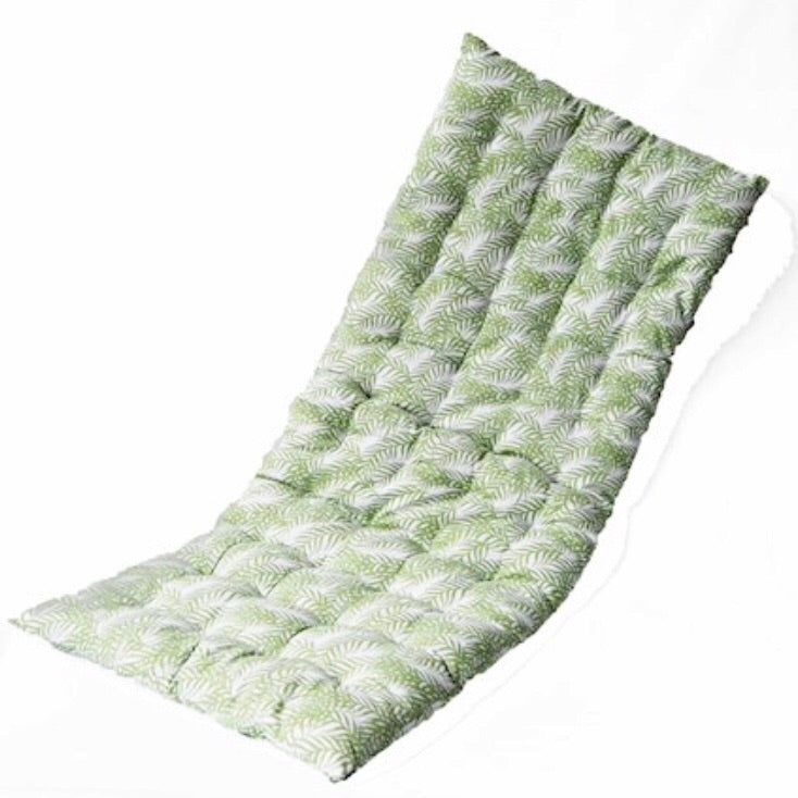 Bench and seat cushion pads botanical green ferns - La Di Da Interiors