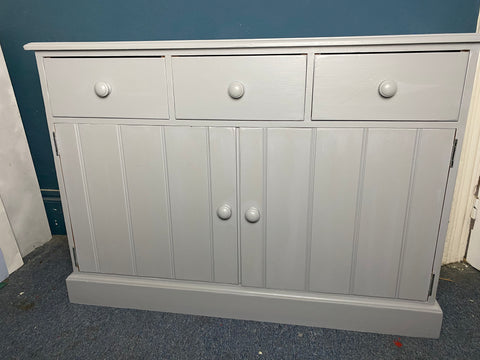 Perry the grey sideboard