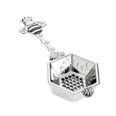 Queen bee tea strainer