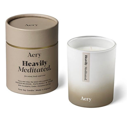 Heavily Meditated Candle by Aery - La Di Da Interiors
