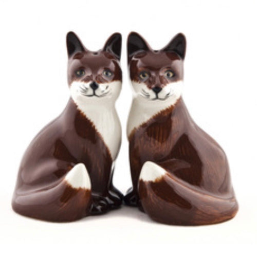 Foxes Salt & Pepper Cruet - La Di Da Interiors