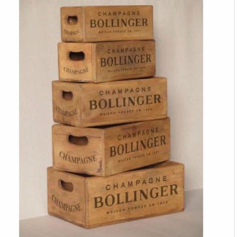 Bollinger Champagne Boxes