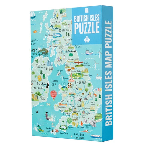 1000 Piece British Isles Jigsaw Puzzle