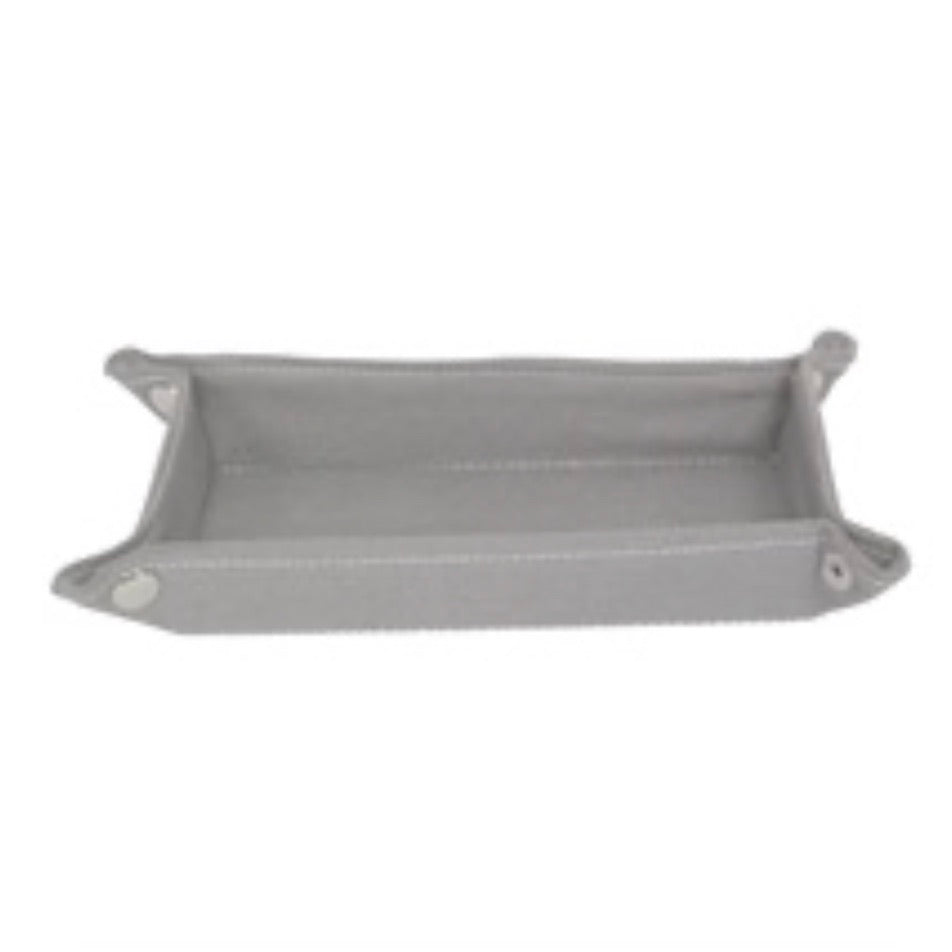 Grey travel tray