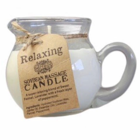 Relaxing Massage Candle Jug