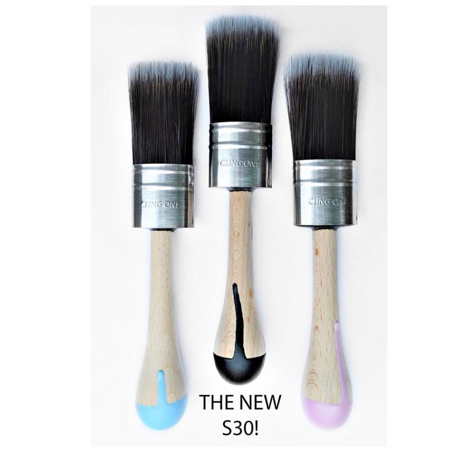 Cling on paint brushes for Fusion - La Di Da Interiors