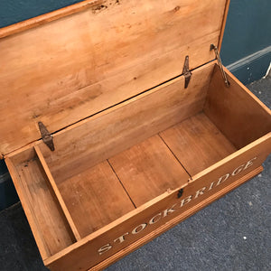 """Stockbridge"" antique chest - great storage SOLD - La Di Da Interiors"