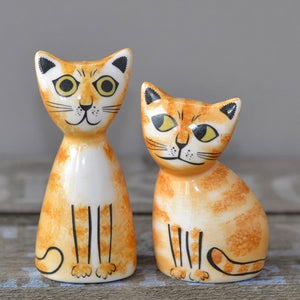 ginger cat salt and pepper set