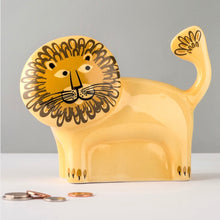 Load image into Gallery viewer, Lion Ceramic Money Box