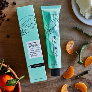 UpCircle Coffee Body Scrub with Tangerine - La Di Da Interiors
