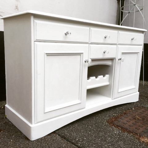Claudia the Old White Sideboard SOLD