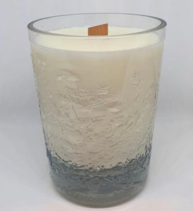 Upcycled prosecco bottle natural candles - La Di Da Interiors