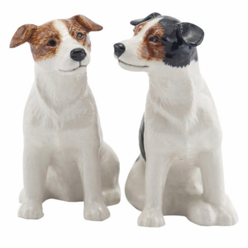 Jack Russell Salt & Pepper Cruet by Quail - La Di Da Interiors
