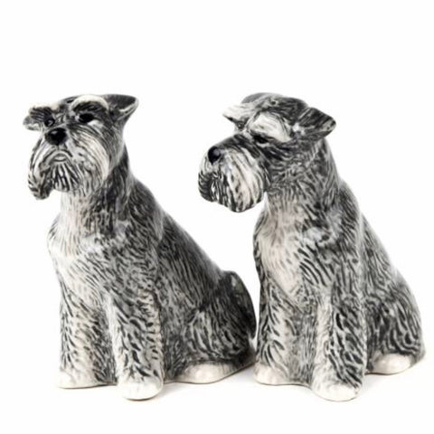 Schnauzer Salt & Pepper Cruet Set by Quail