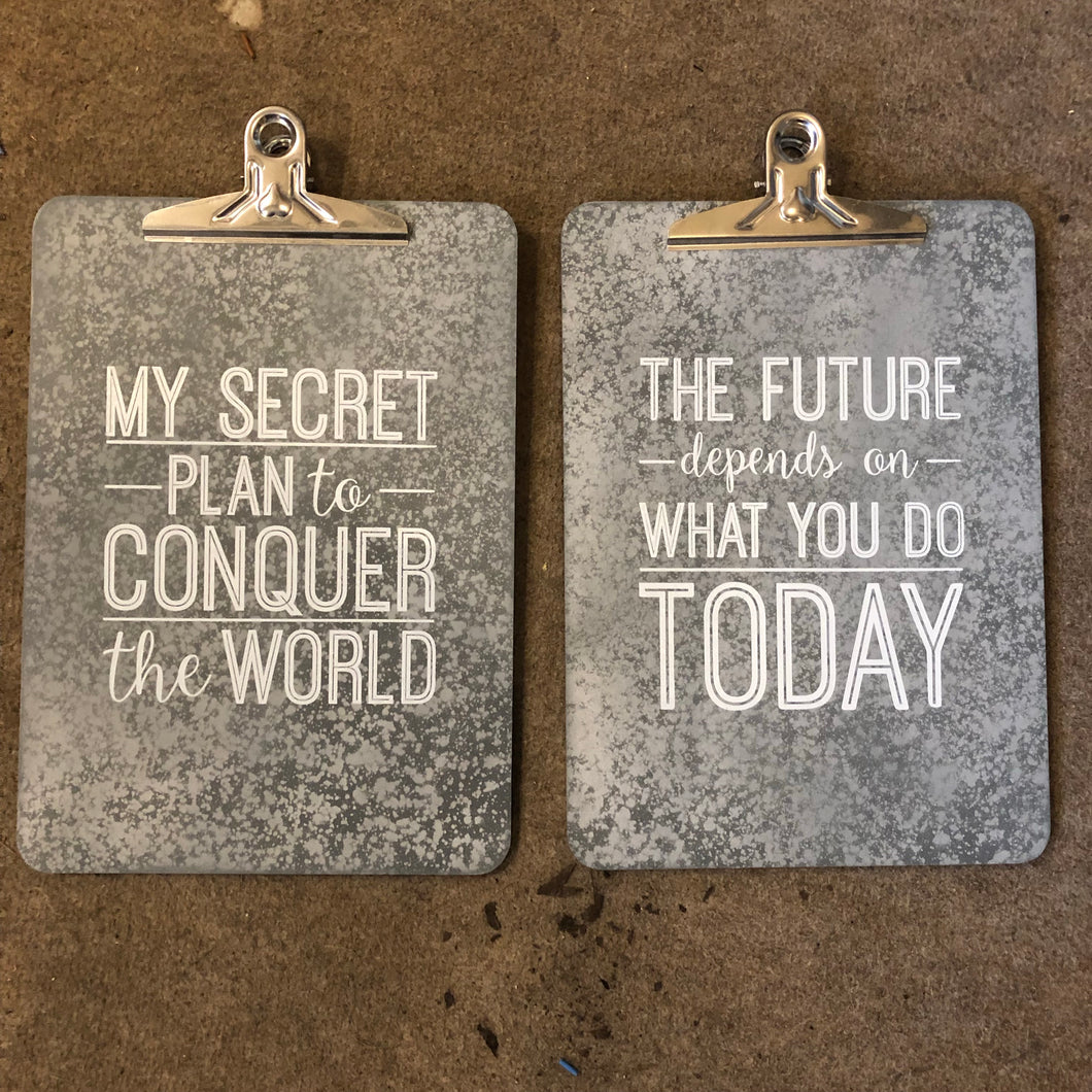 Clipboard - The future depends on what you do today - La Di Da Interiors