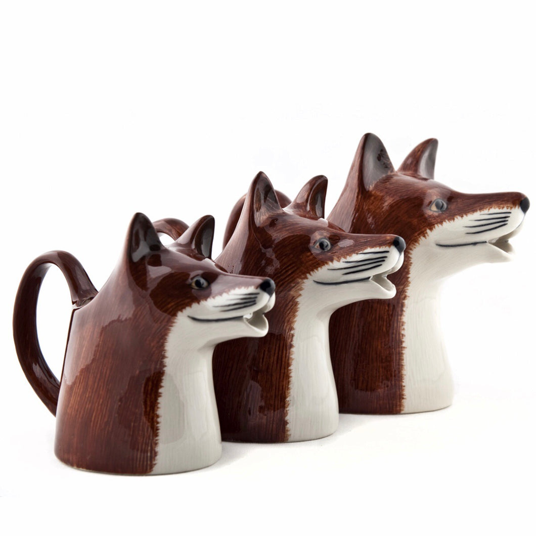 Quail Fox Milk Jugs - La Di Da Interiors