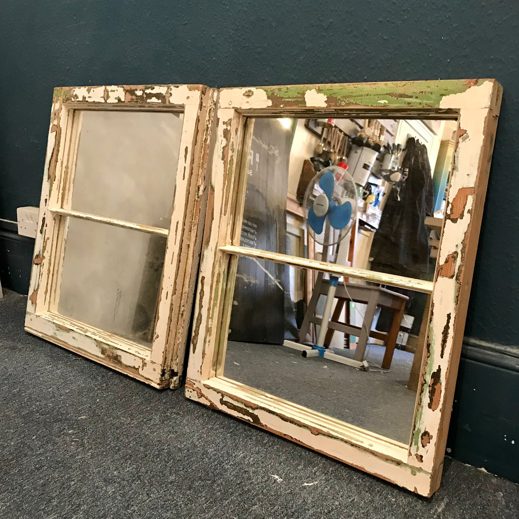 Vintage Window Mirrors - La Di Da Interiors