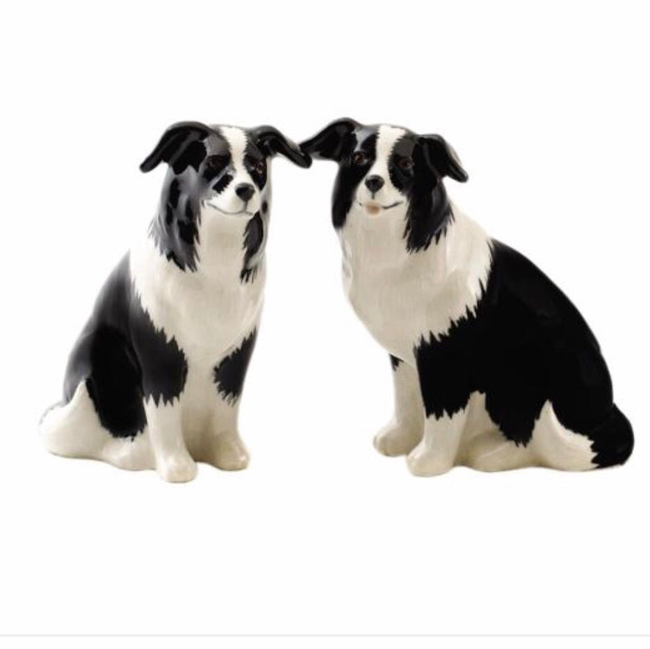 Border Collie Salt & Pepper Cruet - La Di Da Interiors