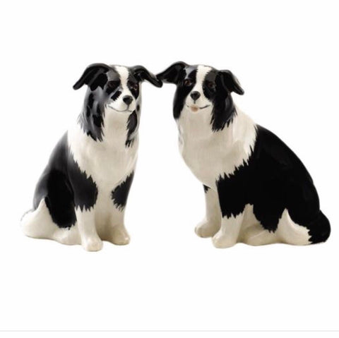 Border Collie Salt & Pepper Cruet
