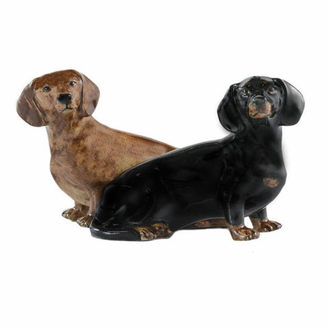 Daschund Salt & Pepper Cruet by Quail