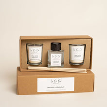 Load image into Gallery viewer, La Di Da Scented Gift Set - Votive Candles and Diffuser - La Di Da Interiors