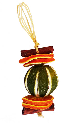 Orange or Lime & Cinnamon Scented Christmas Tree Decorations
