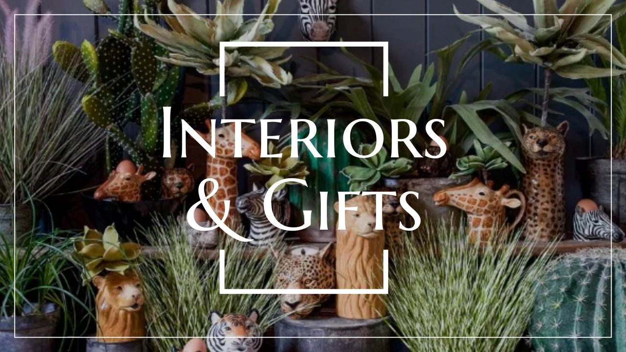 Interiors and gifts for stylish homes