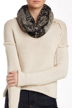 Load image into Gallery viewer, Solid Chunky Knit Metallic Eternity - Just Jamie