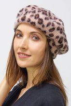 Load image into Gallery viewer, Leopard Beret Hat - Just Jamie