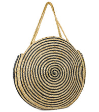 Load image into Gallery viewer, Oversized Circle Jute Tote - Just Jamie