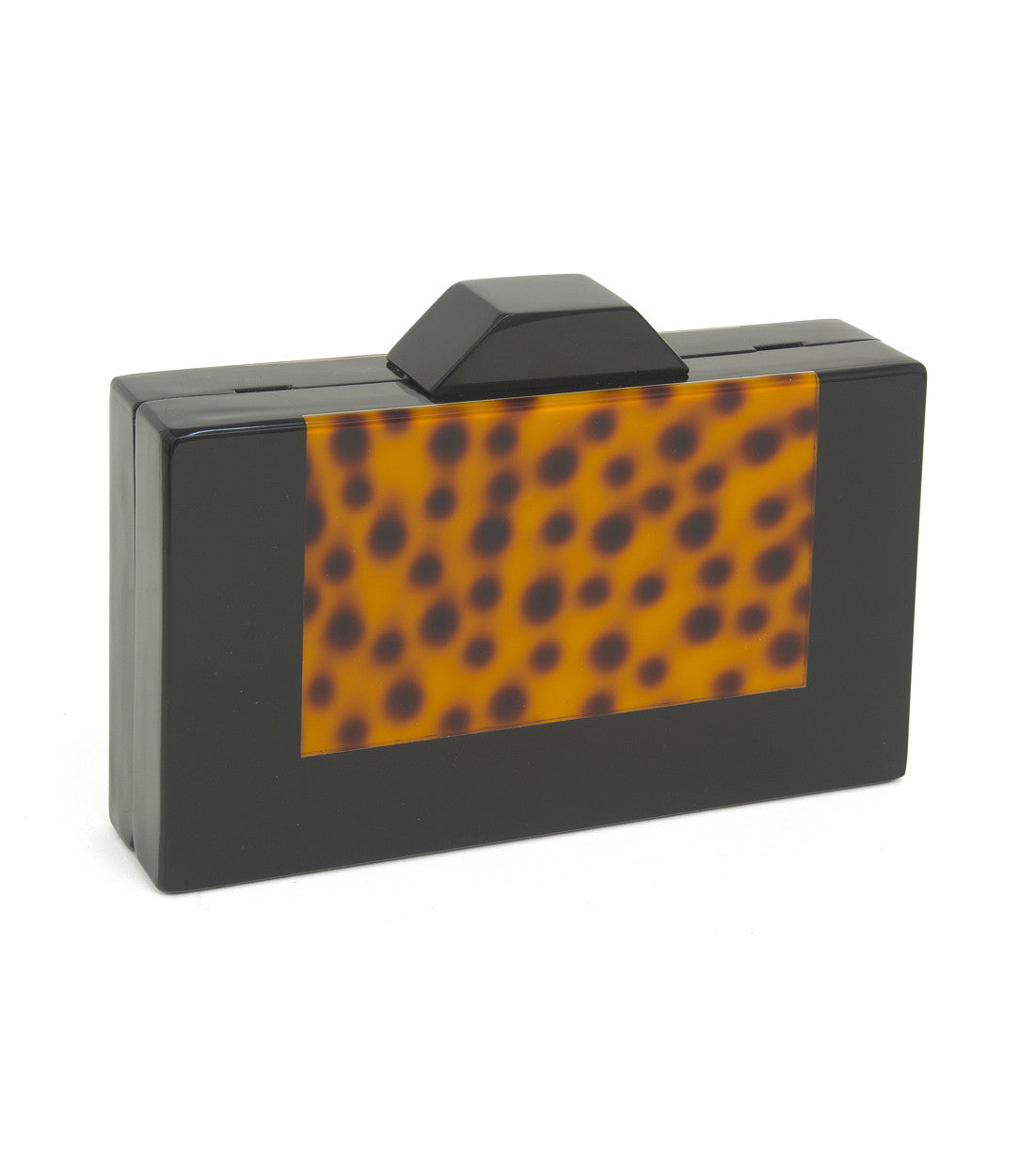 Leopard Acrylic Clutch - Just Jamie