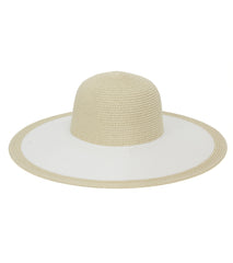 Thick Solid Stripe Brim Floppy - Just Jamie