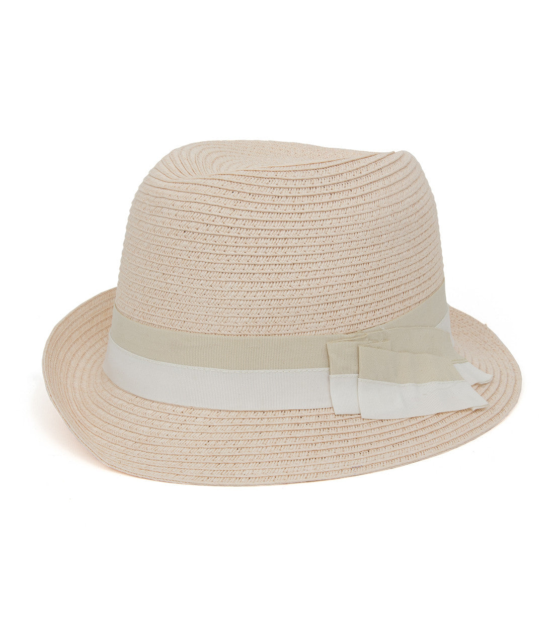 Two Tone Band Fedora - Just Jamie