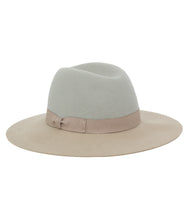 Load image into Gallery viewer, Two Tone Hat with Bow - Just Jamie
