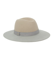 Two Tone Felt Panama Hat - Just Jamie