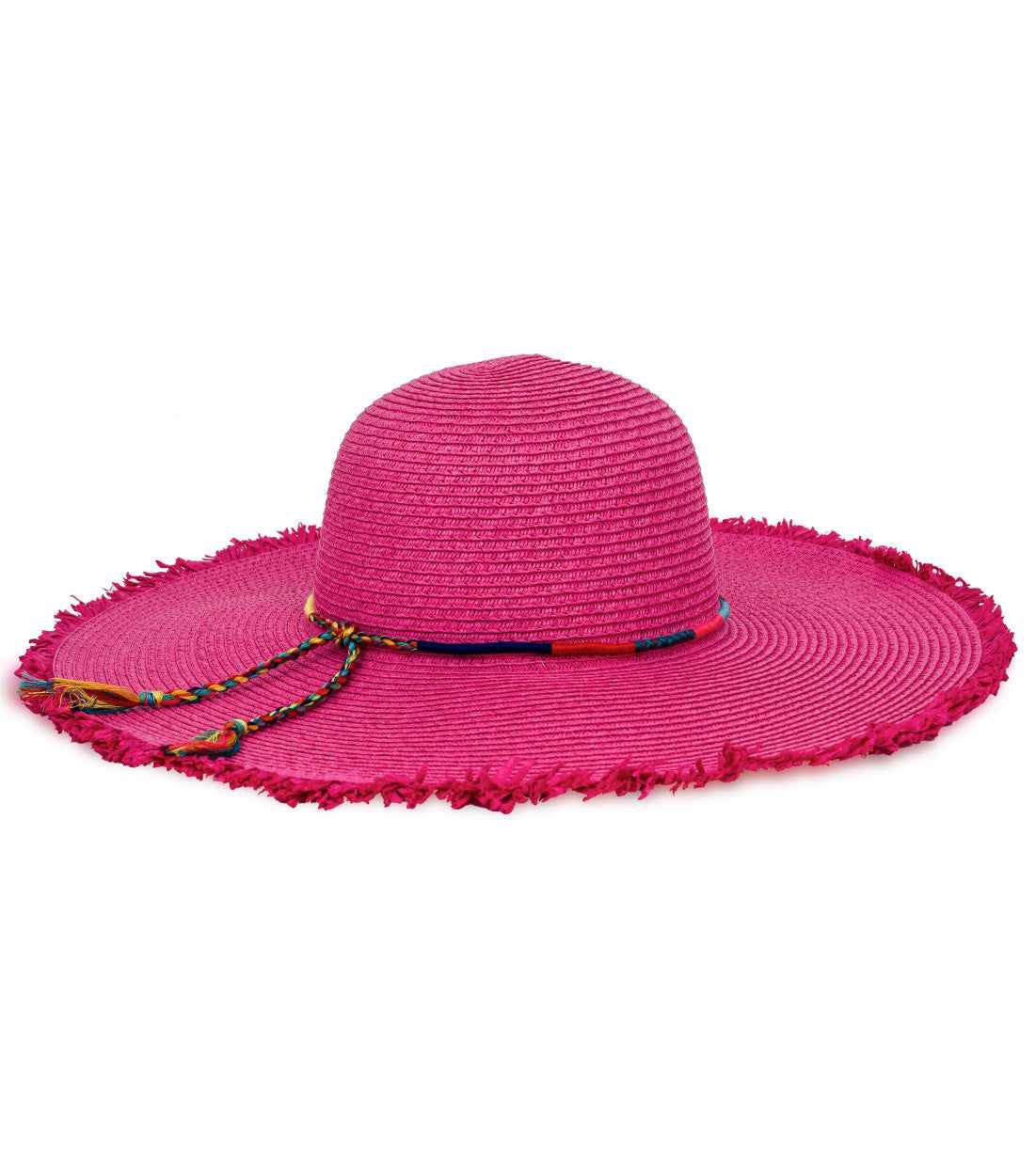 Friendship Bracelet Banded Floppy Hat - Just Jamie
