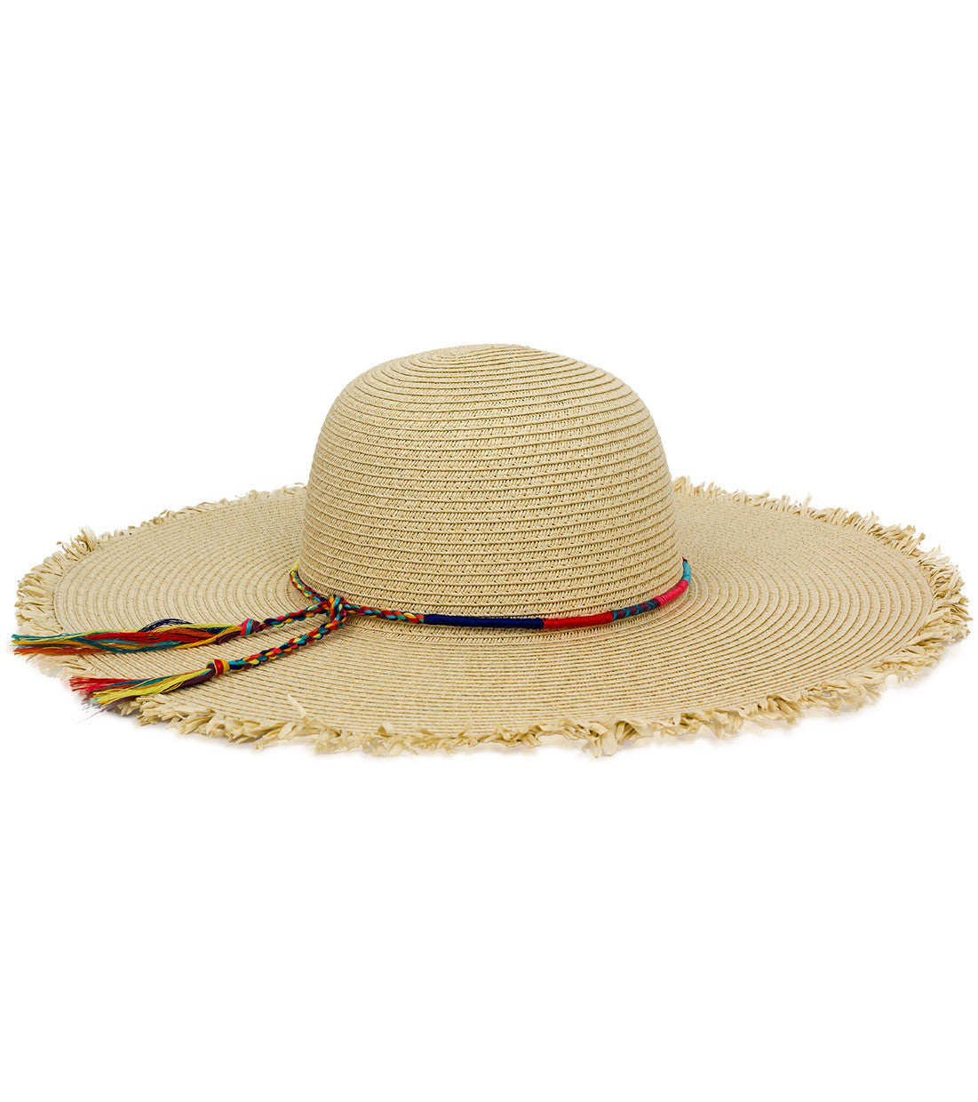 Friendship Bracelet Banded Floppy Hat